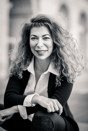 Valérie Guedj_portrait NB